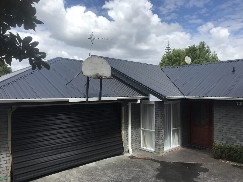 Intak Roof Painting After